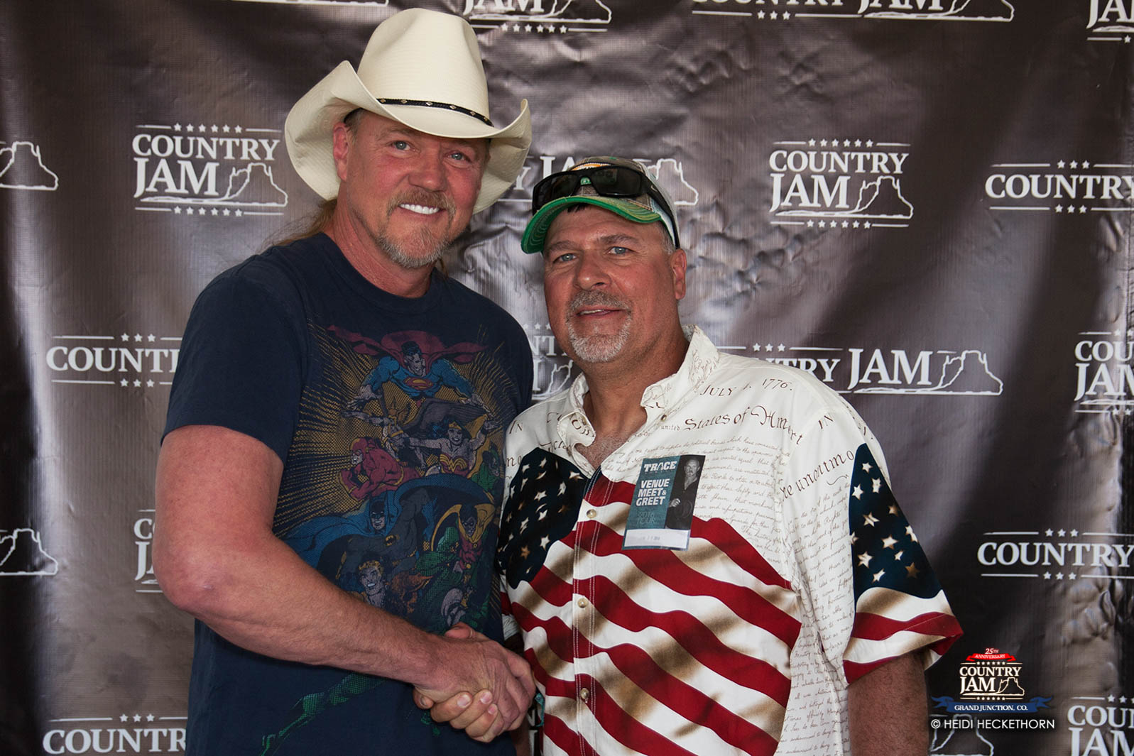 Trace adkins meet greet photos at country jam 2016 country jam kristyandbryce Choice Image