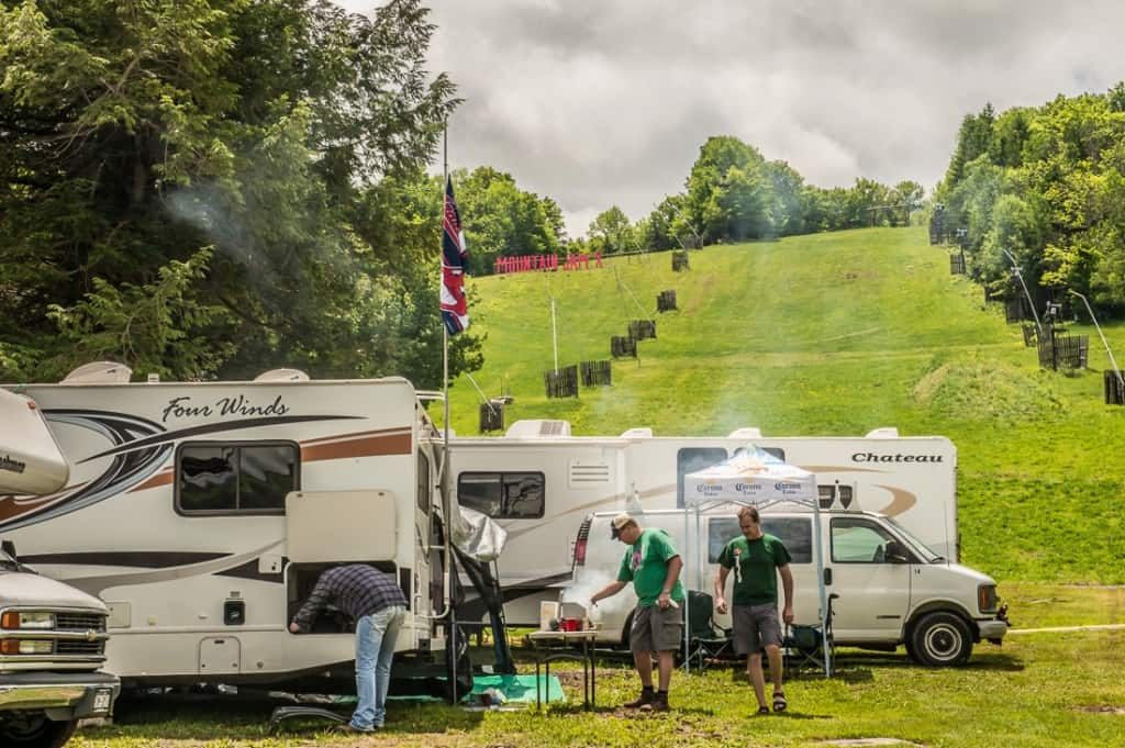 Camping At Mountain Jam
