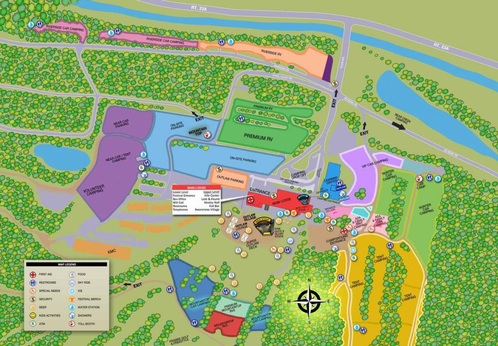 TOCFest Map