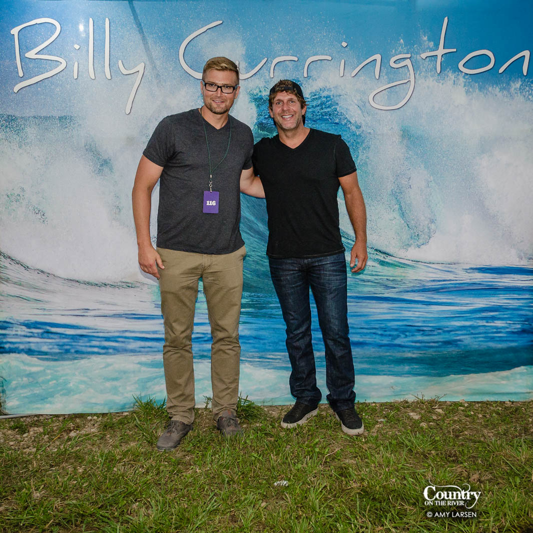 Billy currington meet and greet photos country on the river billy currington hangs out with fans backstage on day 3 of country on the river 2016 kristyandbryce Images