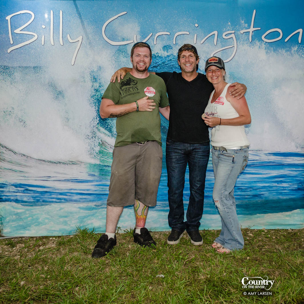 Billy Currington Meet And Greet Photos Country On The River
