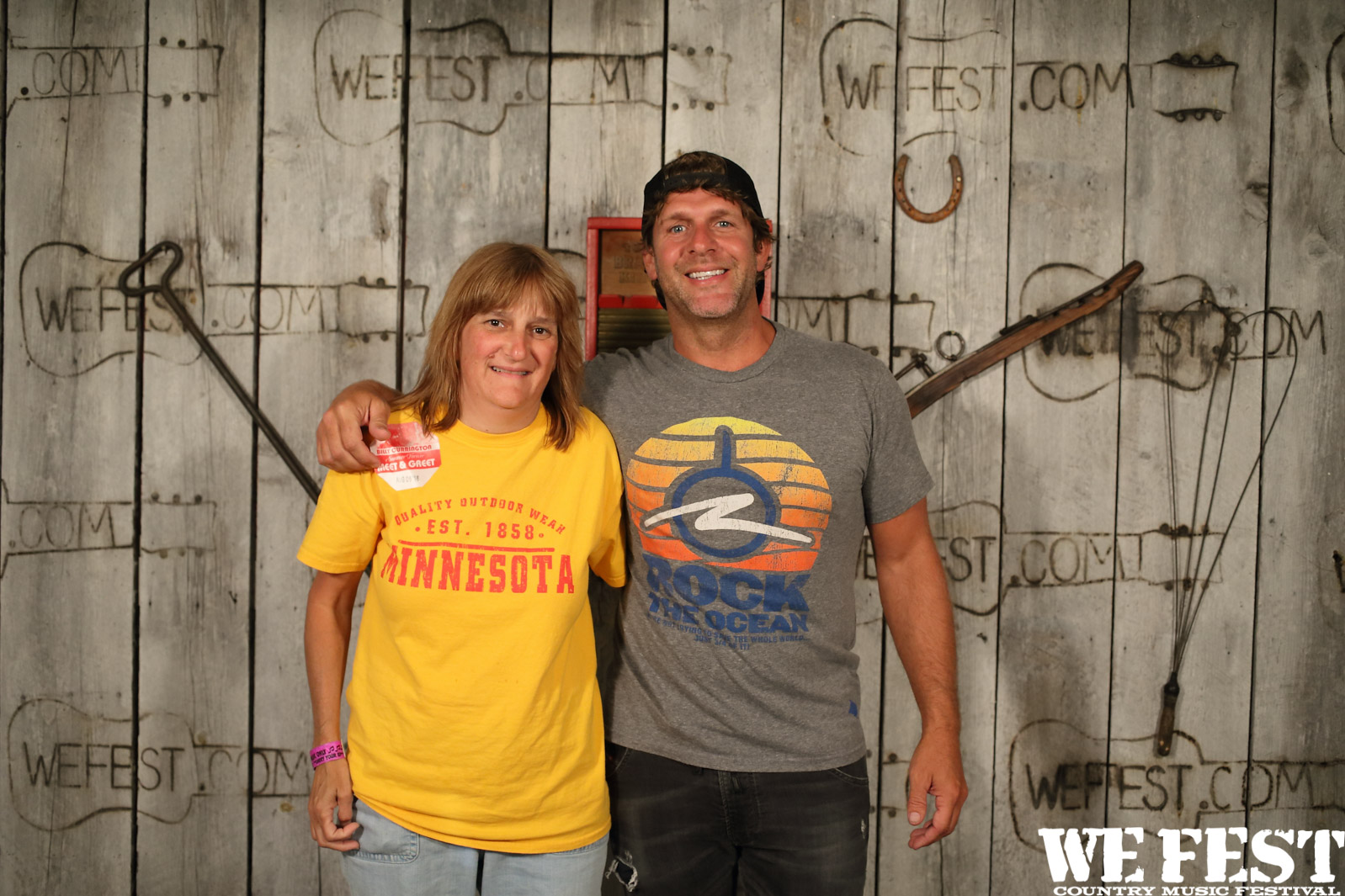 Photos billy currington meet and greet we fest meet and greet with billy currington at we fest 2016 kristyandbryce Images