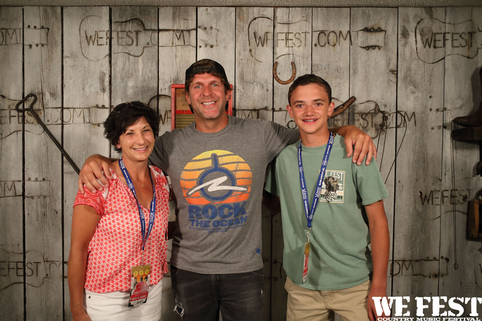 Photos Billy Currington Meet And Greet We Fest