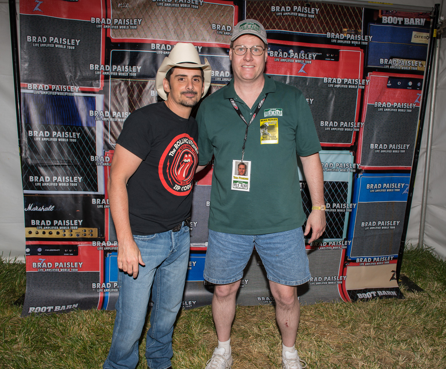 brad paisley meet and greet