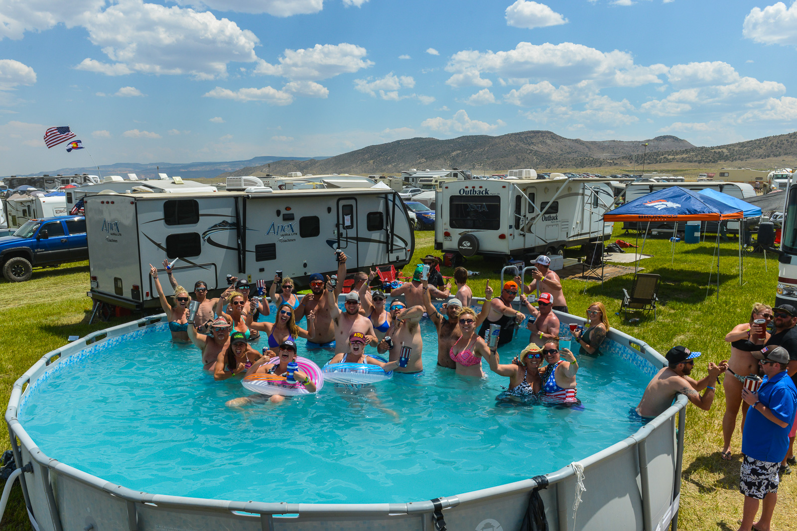 2018 Campgrounds: In Pictures - Country Jam