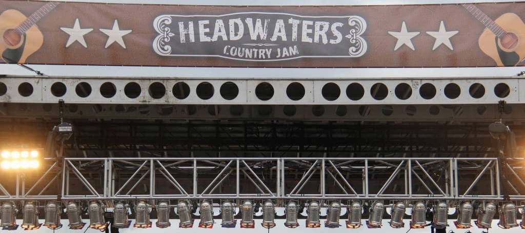 Lineup - Headwaters Country Jam
