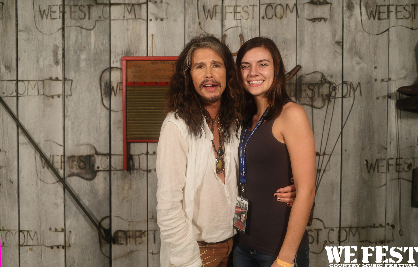 PHOTOS: Steven Tyler Meet and Greet | WE Fest